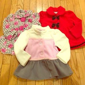 Kids Headquarters Toddler Girl Sz 18M Coat Bundle